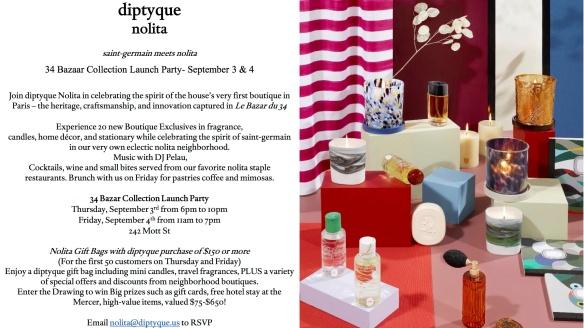 diptyque invite
